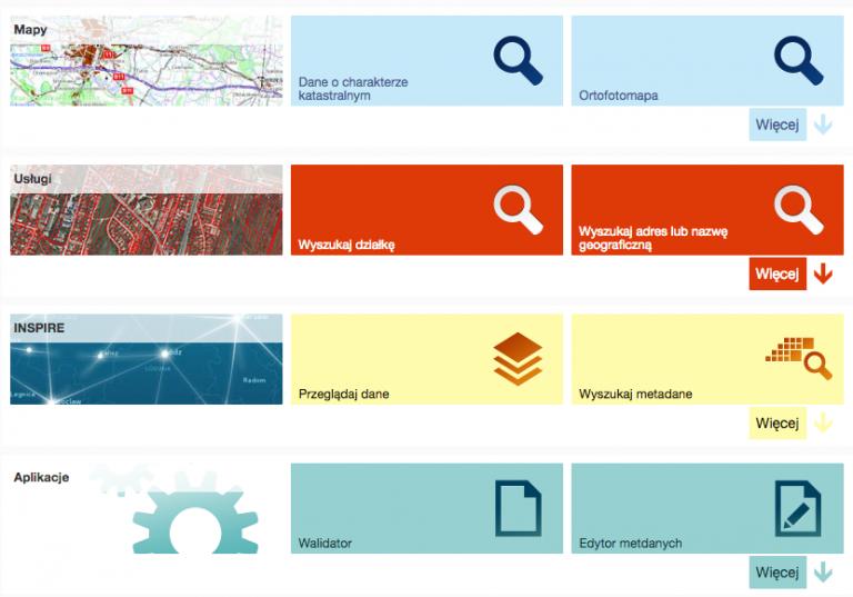 Geoportal.gov.pl - strona główna.